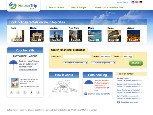 Housetrip Screenshot